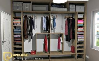 Mẫu tủ quần áo gỗ đẹp U51