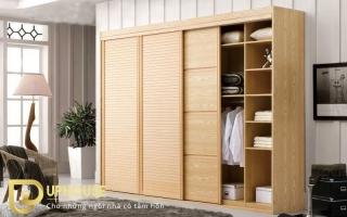 Mẫu tủ quần áo gỗ đẹp U9