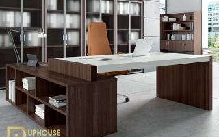 mẫu bàn làm việc văn phòng đẹp của giám đốc U36