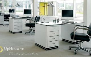 Mẫu bàn văn phòng đẹp U2