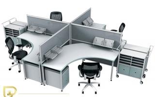 Mẫu bàn văn phòng đẹp U24