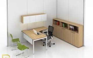 Mẫu bàn văn phòng đẹp U28