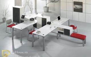 Mẫu bàn văn phòng đẹp U6