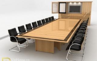 Mẫu bàn họp văn phòng đẹp U5