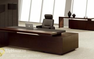 mẫu bàn làm việc văn phòng đẹp của giám đốc U10