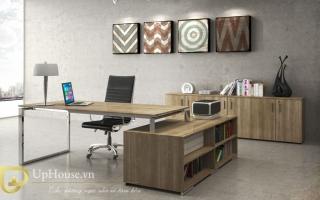 mẫu bàn làm việc văn phòng đẹp của giám đốc U15