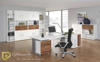 mẫu bàn làm việc văn phòng đẹp của giám đốc U47