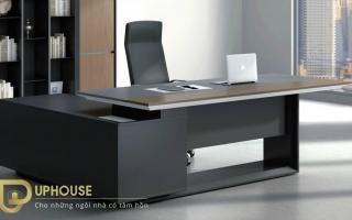 mẫu bàn làm việc văn phòng đẹp của giám đốc U31